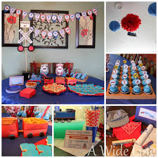 DIY train-themed birthday party