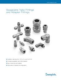 Swagelok Tube Fitting Adafter Fitting Cat