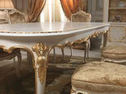classic dining room chairs. Dining Table In Louis XV Style With Golden Carvings Executed By Hand, Venice Classic Luxury Room Chairs T
