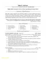 Service Advisor Resume Sample Service Advisor Resume Sample Beautiful Resume Examples Installation 2