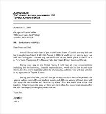 visa letter visa invite letter format forest jovenesambientecas co
