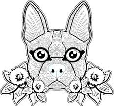 Coloring Pages Dogs Printable Dog Coloring Page Coloring Pages Of