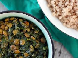spinach and green lentils palak moong recipe and the 660 curries cookbook winner