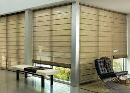 window covering for sliding glass door popular of roman shades for sliding glass doors designs with
