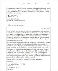 college admissions letter of recommendation sample 11 high school recommendation letter template 10 free word pdf