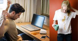 First, to get rid of the smell of coffee spread the dry baking powder over the affected area and leave it to sit overnight. How To Remove Old Coffee Stains From Clothing