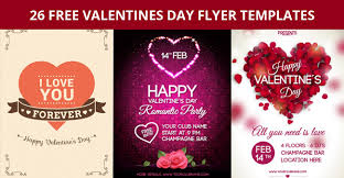 26 Free Valentines Day Flyer Templates For Download Designyep