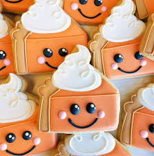 Semi Sweet Designs Coupon Code Happy Pumpkin Pie Cookies Just In Time For Thanksgiving