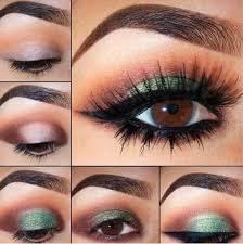 green smoky eyes smokey eyes makeup tips in urdu english