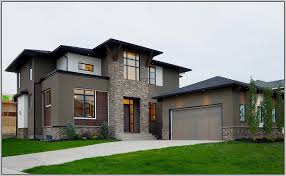 neutral exterior paint colors for modern homes