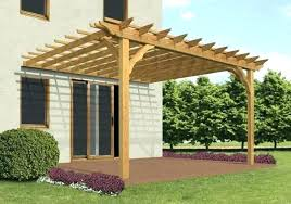 attached pergola plans designs design ideas building a to house maple deck gazebo free