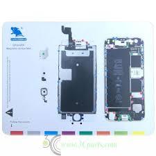 Iphone Screw Chart Magnetic Screw Chart Mat Technician Repair Pad Guide For