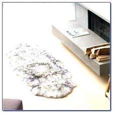 sheepskin rug fur faux genuine furry strikingly peachy cleaning costco review r