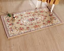 European Style Doormat Home Cleaning Foot Pad Mat Printed Carpet