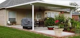 aluminum awnings patio covers kits