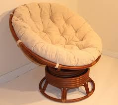 interesting-rattan-frame-papasan-chair-target-with-white-