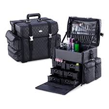 mua limited pro makeup artist storage bag case soft sided carry on cosmetic case with