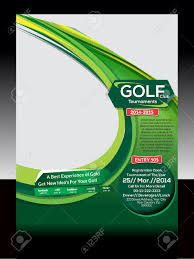 golf flyer template vector illustration royalty cliparts golf flyer template vector illustration stock vector 25993357
