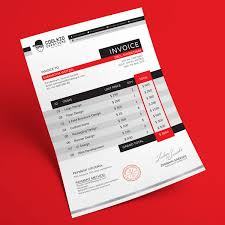 invoice template design top 10 best free professional invoice template designs in ai psd