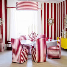 painting stripes on the wall tips and