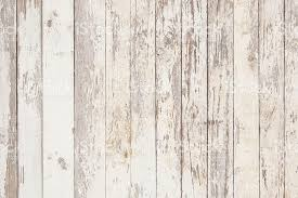 White Old Wooden Fence Wood Palisade Background Planks Texture Stock