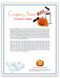 free halloween stationery templates free letterheads archives free letterhead templates