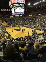 Crisler Center In Ann Arbor Michigan Wolverines