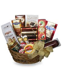 gourmet basket gift basket in winnipeg mb edelweiss florist