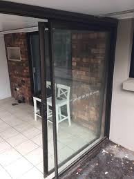 glass panel and sliding door with frame building materials gumtree australia brisbane south west middle park 1198137964