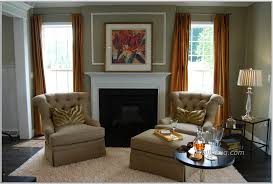 ... Wall Glass Windows living room Large-size Living Interior Ideas  Astounding Best Room Layout Brown Sofa Chair Rug ...