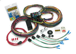 complete wiring harness kit jeep wiring diagram for you • 21 circuit customizable 1966 76 mopar chassis harness painless rh painlessperformance com custom wiring harness kits custom wiring harness kits