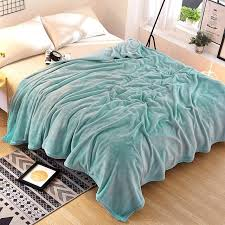 Blue Velvet Throw Blanket