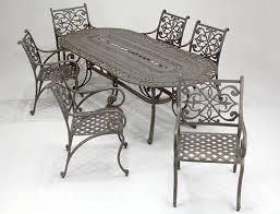 Vintage Cast Iron Patio Furniture