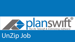 Estimating Job How To Unzip An Estimating Job In Planswift