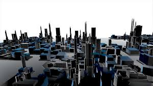 modern architecture city. Delighful Architecture 3D Animation Of Growing City Building And Modern Architecture Construction  Cityscape In Aerial View Industrial Concept White Background 4k Motion  In Modern Architecture City R