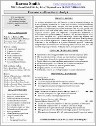 Financial Resume Examples Gorgeous Financial Planning And Analysis Resume Examples Financial Analyst