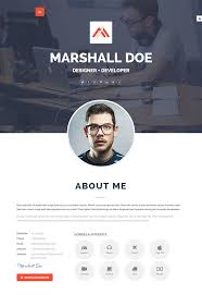 20 Intriguing Online Resume Templates Web Graphic Design Bashooka