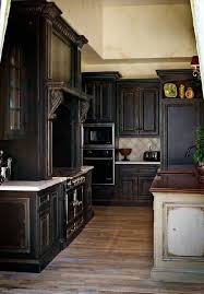Antique Black Kitchen Cabinets Custom Ideas