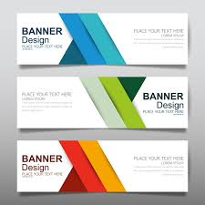 banner design template vector set of modern banners template design 18 free download