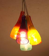 lovely diy bottle chandelier colorful diy wine bottle chandelier mod podge rocks