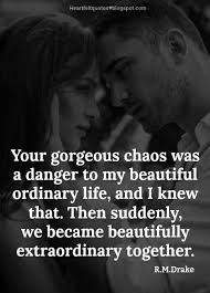 Love Is Quotes For Him Cool Love Quotes For Him For Her 48 Best Poetry Quotes by RM Drake