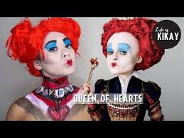 red queen of hearts makeup tutorial alice in wonderland access you