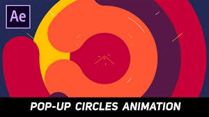 Animation Circles After Effects Tutorial Pop Up Circles Animation For Intros Youtube