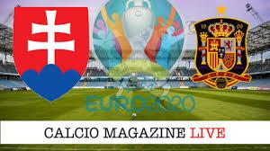 Slovacchia - Spagna 0-5 il tabellino del match 23 giugno 2021