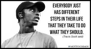 Travis Scott Quotes Stunning Travis Scott Said Quotes 48 Motto Cosmos Wonderful People Said