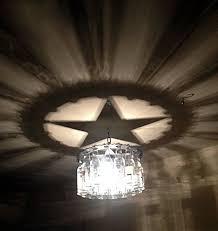 unique texas star shadow light bottle by nunnikhovenartstone 98 00