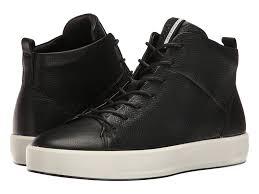 Ecco Danish Design Womens About Ecco Shoes Ecco Soft 8 High Top Womens Black Cow