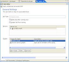 Novell Doc: Designer 2.1 for Identity Manager 3.5.1 - Editing a Job