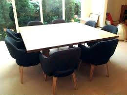 large round dining table seats 8 lovely square person size rustic 12