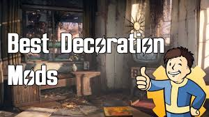 Fallout 4 - Top Decoration Mods - YouTube